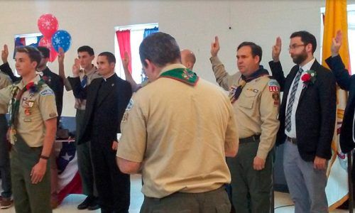 Five Eagle Scouts Land in Manassas