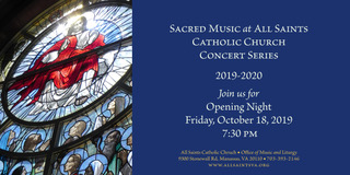 All Saints Sacred Music Concert Series - 2019-2020