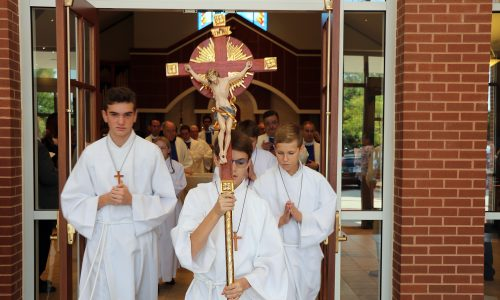 Altar Server Training: New and Returning