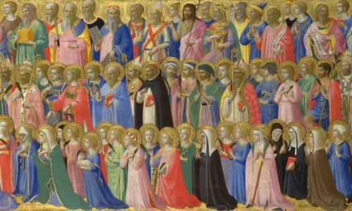 All Saints Day Mass Schedule — Nov. 1