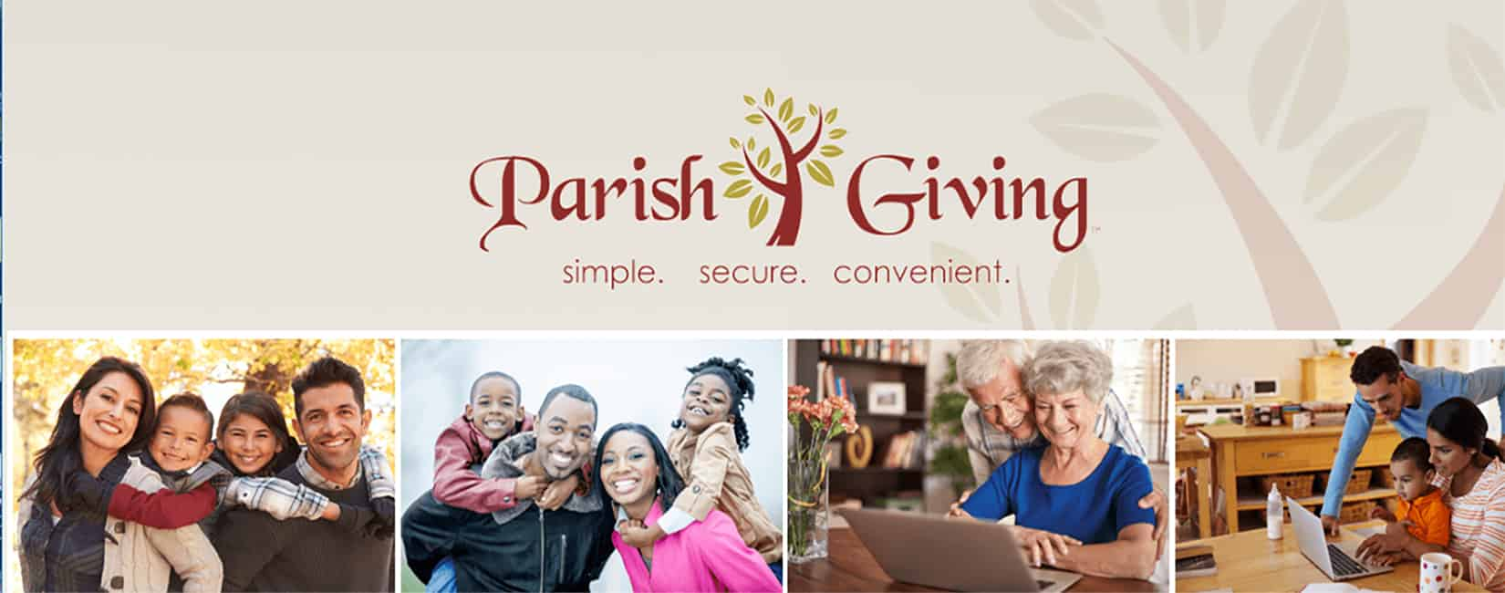 Online Giving through Parish Giving - All Saints Catholic Church