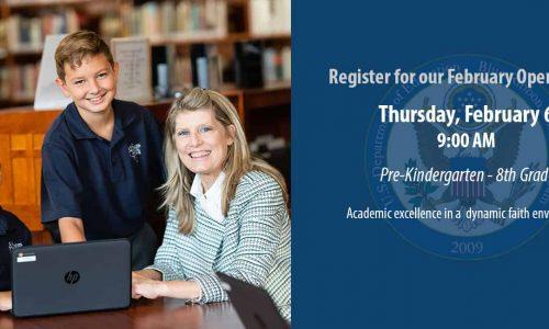 School Open House – Thursday, February 6