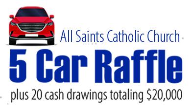 5 Car Raffle - April 24