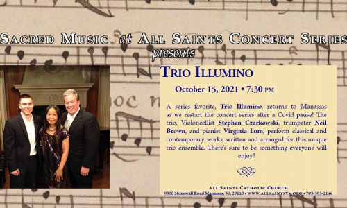 Join Us for Trio Illumino – October 15